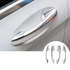 ABS Exterior Car Door Handle Cover Trim For Benz C Class W205 2014-2015 5pcs #Affiliate