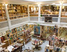 Eureka Books...a classic antiquarian bookstore.  I could spend hours here.  I'm so glad that the old-fashioned bookstores have survived in our community, even as Borders bit the dust!