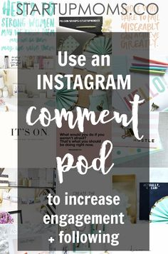 Instagram is quickly becoming one of the most powerful social networks. Instagram can be used to market your product, brand, website, content (blog posts) and gain influence in your industry. Today we're going to talk about pods on Instagram. Sometimes we call them Comment Pods. Check out my first post about Instagram, with NINE TIPS...Continue Reading