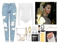 """""""Untitled #43"""" by nixsparks ❤ liked on Polyvore featuring Giuseppe Zanotti, WearAll, Topshop, MAC Cosmetics, Kobelli, Chanel, MICHAEL Michael Kors and Yves Saint Laurent"""