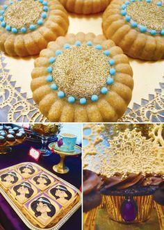 princess jasmine birthday party sweets