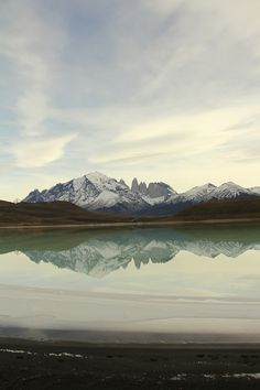 "I love the colours and how this image sweeps me away.  ""Torres del Paine"" Source: Gregory Felito"
