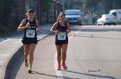 Con Ana en Media Maratón Bajo Pas 2014. previa a su debut maratón NY