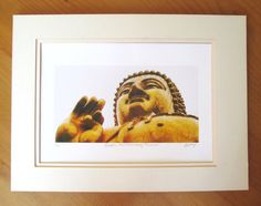Golden Buddha Archival A4 matte photo print by PegBessie on Etsy, £9.50