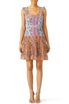 SALONI Elodie Lunar Flight Dress This bright patterned dress has a pleated skirt. Perfect for a summer or early fall engagement party! Fall Engagement Parties, Engagement Party Dresses, Summer Dress Patterns, Summer Dresses, Rent Dresses, Western Chic, Lovely Dresses, My Style, Summer Romance