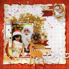 BoBunny: Holiday Traditions Layouts