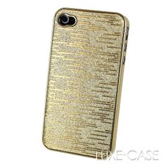Gold Glitter iPhone 4 4S Case Sparkle Black White by LuxeCase, $12.99  http://rover.ebay.com/rover/1/710-53481-19255-0/1?ff3=4&pub=5575067380&toolid=10001&campid=5337420657&customid=&mpre=http%3A%2F%2Fwww.ebay.co.uk%2Fsch%2Fi.html%3F_sacat%3D0%26_from%3DR40%26_nkw%3Diphone%2B4%26rt%3Dnc%26LH_BIN%3D1