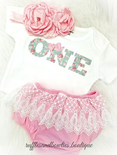 Is your baby girl turning one soon? If so; then this shirt would make the best birthday outfit when paired with a fancy tutu and other accessories. OR, if your daughter is already one then why not let