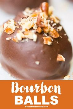 Our traditional Southern recipe for Bourbon Balls is so deliciously festive, once you try them, you're sure to make them a part of your holiday traditions! #BourbonBallsRecipe #HolidayTreat
