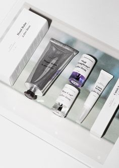 Packaging & other stories; pamper your hands