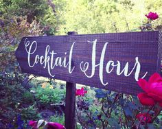 #UnlimitedRomance This is a beautiful #CocktailHour #Wedding Sign