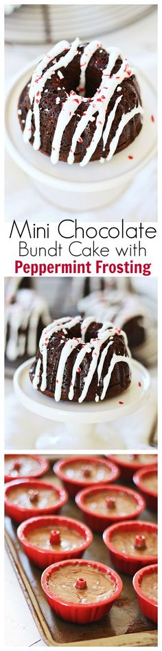 'Tis the season for rich chocolate bundt cake topped with sweet peppermint frosting. Easy recipe that you can try this holiday season for your family | rasamalaysia.com