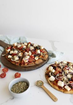 Pita Kebab, Pizza Naan, My Favorite Food, Favorite Recipes, Confort Food, Cheat Meal, Pain, Vegetable Pizza, Ricotta