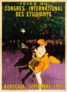Fêtes du congrès international des étudiants, Bordeaux