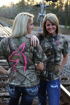 Love the camo t-shirts! Just For Does