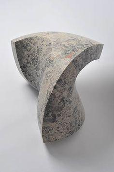 Senden Blackwood,    'mea' 2013,    limestone,  26 x 40 x 38cm