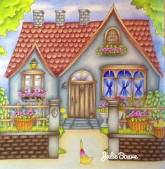 Romantic Country Coloring Book...The Third Tale
