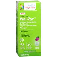 I'm learning all about Walgreens Child Liquid Sugar Free Grape at @Influenster!