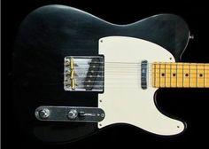 Fender Custom Shop Closet Classic Pine Tele - Black 1201402806