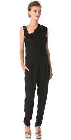 Sonia Rykiel Asymmetrical Jumpsuit