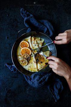 What Should I Eat For Breakfast Today Almost Crepes Suzette / Marta Greber<br> Peanut Butter Cups, Peanut Butter Desserts, Crepes Party, Crockpot, Slow Cooker, Easy No Bake Desserts, Baked Banana, Salted Chocolate, Wonderful Recipe