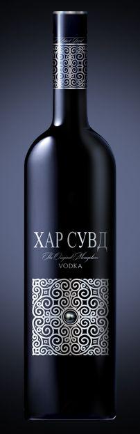 Mongolian Vodka Ornamental Idea