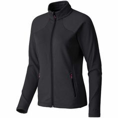 Khamsin 2 Jacket: This technical midlayer is lightweight and breathable enough for alpine terrain. The fabric is low-loft fleece that provides a good level of insulation for ticking your w Mountain Equipment, Jackets For Women, Free Shipping, My Style, Coat, Fabric, How To Wear, Detail, Sewing