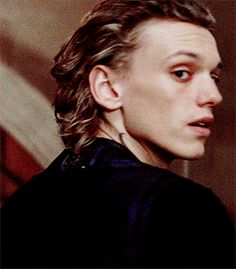 So beautiful. Jamie Campbell bower City of bones