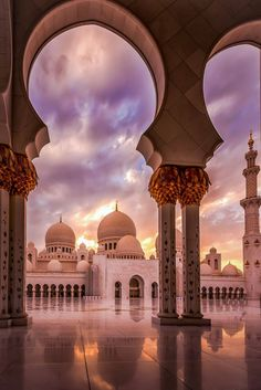 Architecture Discover Sunset at the Mosque by julian john / Beautiful Mosques Beautiful Places Mosque Architecture Architecture Courtyard Ancient Architecture Islamic Wallpaper Grand Mosque Amazing Buildings City Buildings Architecture Courtyard, Mosque Architecture, Architecture Wallpaper, Architecture Sketches, Ancient Architecture, Architecture Design, Gothic Architecture, Islamic Wallpaper Iphone, Mecca Wallpaper