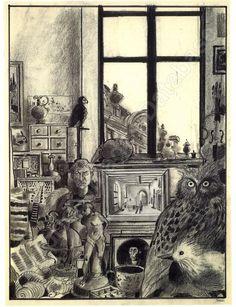 Ronald Searle, Quentin Blake, Louvre, Global Art, Paris, Comic Artist, Art Market, Natural History, Auction