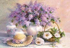 Flowers In A Vase Puzzle 500 Teile Neu Castorland B-52868