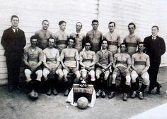 Club Atlético BOCA JUNIORS - Buenos Aires, Argentina - Temporada 1917 - Boca Juniors campeón del primer torneo de veteranos para ex-jugadores