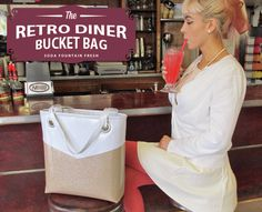 Retro Diner Bucket Bag | Sew4Home