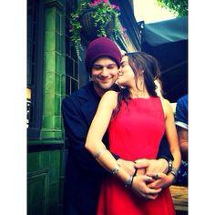 Zoey Deutch and Danila Kozlovsky at last year's Vampire Academy Wrap Up Party