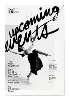 Dance Poster by Sam Wood