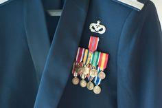 Las Vegas Wedding Planer, Springs Preserve Wedding, Las Vegas, Military, Groom's Attire, Medals
