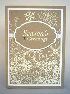 Dreaming of a White Christmas. by Misstreez - Cards and Paper Crafts at Splitcoaststampers