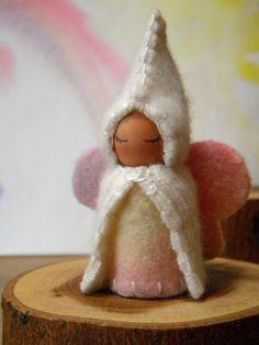 Waldorf Winter Fairy by, Mama West Wind