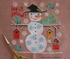 Winter Holiday from Birds of a Feather on the Words and Blooms blog