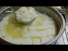 How To Make Cheese, Homemade Beauty Products, Food Preparation, Yogurt, Recipies, Dairy, Food And Drink, Pudding, Yummy Food