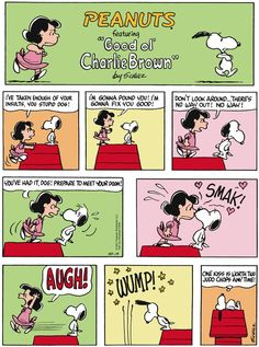 Hee hee...dog kisses! Peanuts for 10/19/2014 | Peanuts | Comics | ArcaMax Publishing