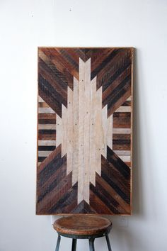 sunburst reclaimed wood table | handmade by Ariele Alasko