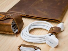 Leather Obsessed Kit for Macbook Users by CapraLeather on Etsy