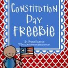 September 17th is Constitution Day. Here are a few things I have put together to use during the day with my little ones!   Please let me know if yo...
