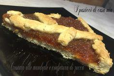 Crostata+alle+mandorle+e+confettura+di+zucca
