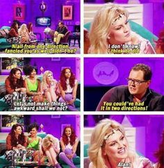 Perrie Edwards and Alan Carr.shining the light for our future generation Perrie Edwards, Little Mix Funny, Alan Carr, Litte Mix, Jesy Nelson, 1d And 5sos, Girl Bands, Ed Sheeran, One Direction