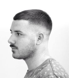 100 Best fade haircuts for 2019 – Rod Anker Salons Best Fade Haircuts, Round Face Haircuts, Hairstyles Haircuts, Haircuts For Men, Buzz Cut For Men, Buzz Cuts, Short Hair Cuts, Short Hair Styles, Crop Haircut