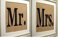 Use for photos ? Burlap Wall Decor, Fabric Wall Decor, Burlap Art, Burlap Crafts, Wine Cork Monogram, Burlap Monogram, Nursery Monogram, Burlap Wedding Signs, Monogram Wedding