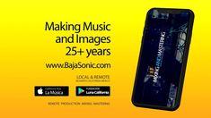 En donde quiera que te encuentres, estamos cerca, deseamos éxito a la música y la comunicación en el 2021. En BajaSonic producimos música e imágenes con una visión multicultural, somos la fusión de varios mundos, desde la frontera más visitada del mundo. Puedes grabarte y necesitas asesoría, doblajes, mezcla o producción?, consúltanos desde cualquier parte del planeta. Nuestros servicios www.Bajasonic.com/servicios Galaxy Phone, Samsung Galaxy, California, World, Musica, The California