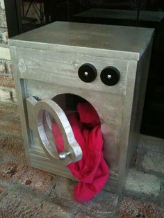 Wooden Washing Machine | Do It Yourself Home Projects from Ana White